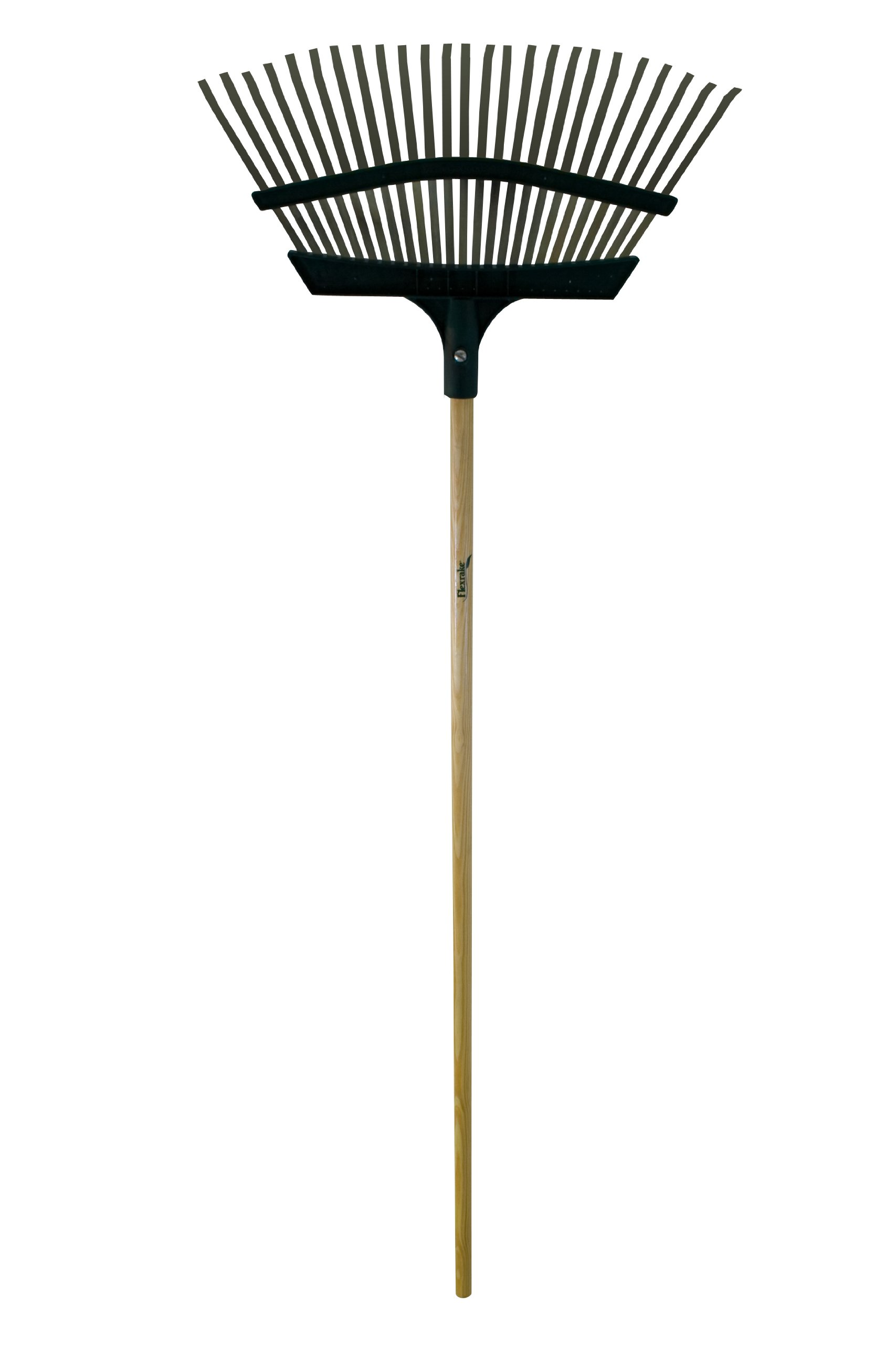 Flexrake 9A Lawn Rake 20-Inch Metal/Poly with 48-Inch Aluminum Handle