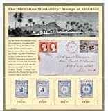 Hawaiian Missionary Stamps, Full Sheet of 4 x 37-Cent Postage Stamps, USA 2002, Scott 3694