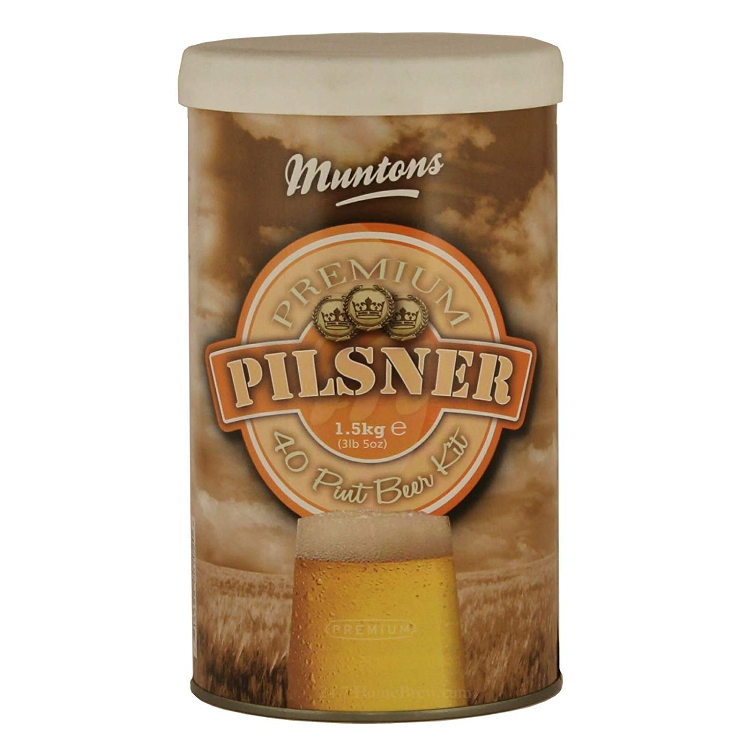 Muntons Premium Pilsner Beer Making Kit, 53-Ounce Can COMINHKPR01614