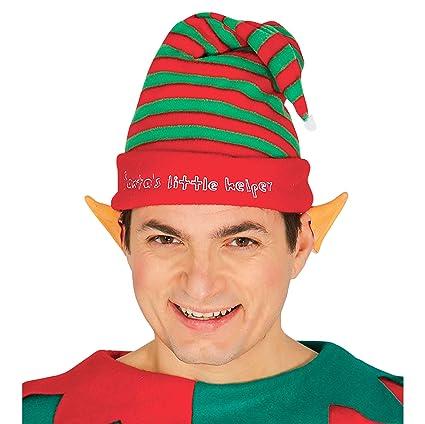 Cappello elfo a strisce aiutante babbo natale  Guirca  Amazon.it  Casa e  cucina 7edaf8e8ab4b