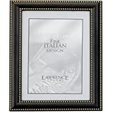 Lawrence Frames 4 by 5 Metal Picture Frame Oil Rubbed Bronze with Delicate Beading