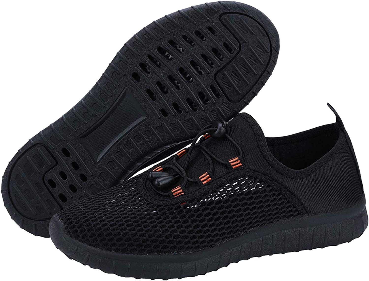 ANYUETE Women's Quick Dry Aqua Water Shoes Lightweight Athletic Sports Shoes