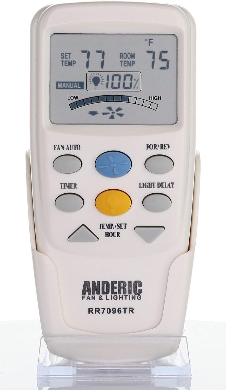 Replacement LCD fan remote for Hampton Bay /& Harbor Breeze FAN-9T CHQ8BT7096T