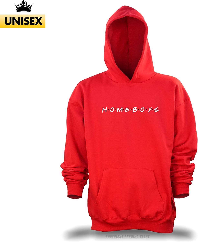 PUSHING BLACK HOMEBOYS Unisex Pullover Hoodie