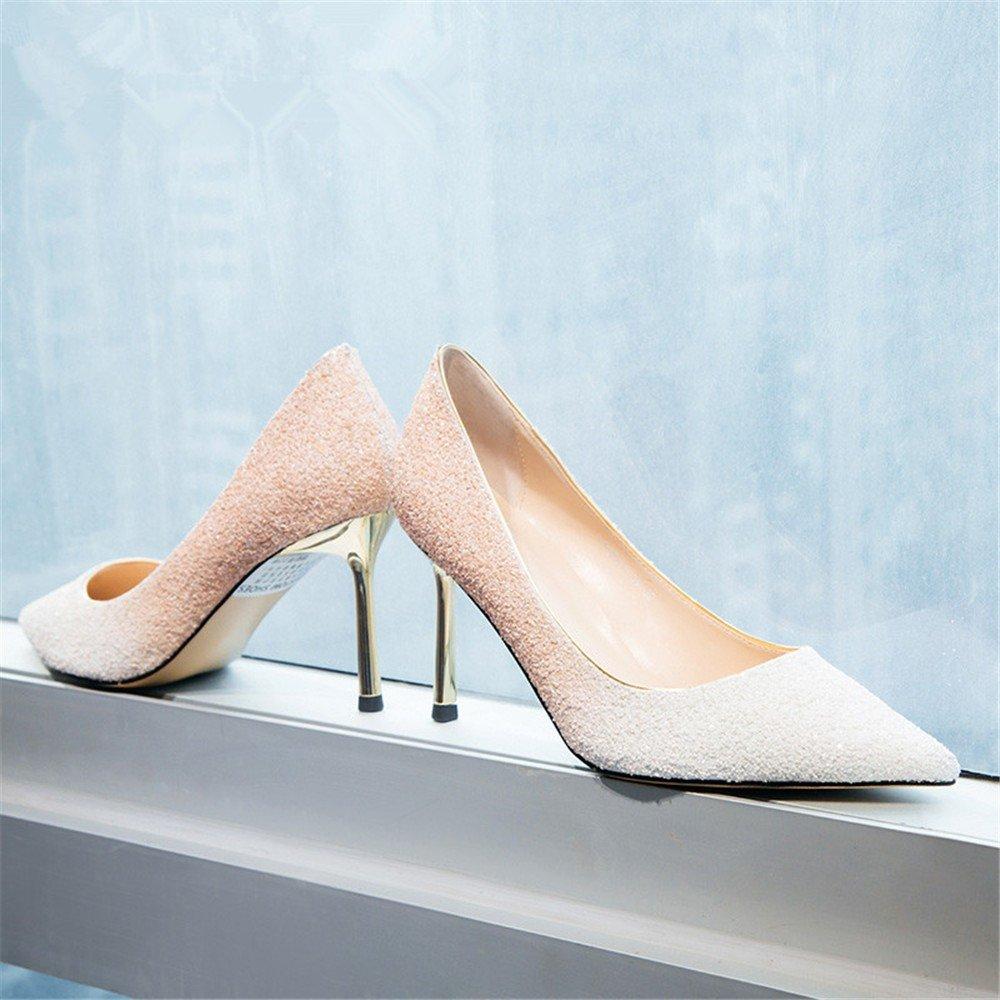 HXVU56546 Neue Präsident Einzelne Einzelne Einzelne Schuhe Frühjahr Und Herbst Jahreszeiten Fine Crystal Schuhe Mit Hohen Absätzen B07BJKT29B Tanzschuhe Britisches Temperament 11e09f