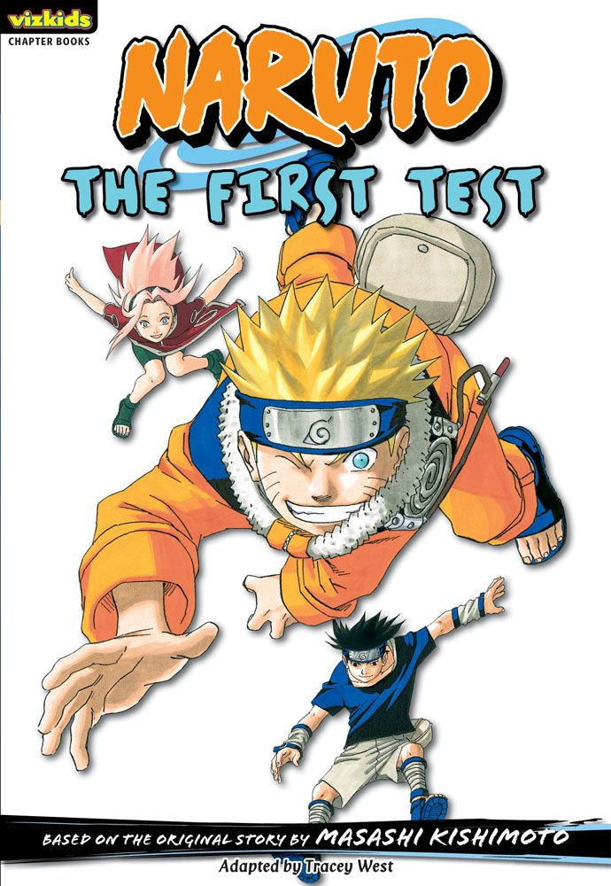 Amazon.com: Naruto: Chapter Book, Vol. 10: The First Test ...