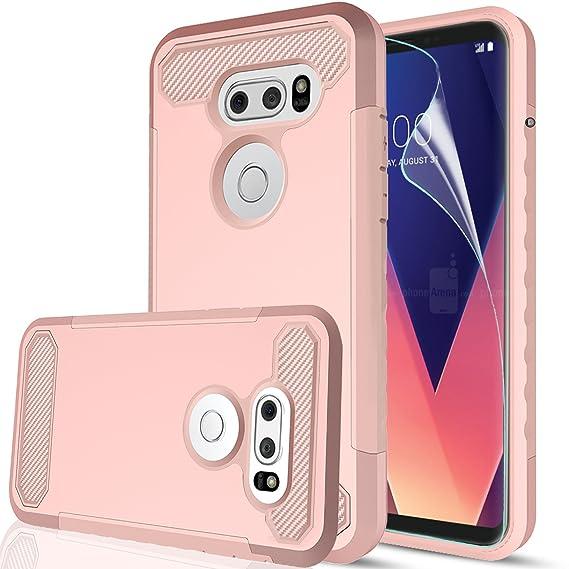 Amazon com: V30 Case, LG V30+ Case, LG V30 Plus Case with HD