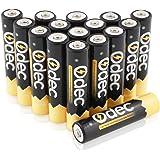 Odec Paquete de pilas recargables AAA (16 unidades, Ni-MH, 1000mAh)