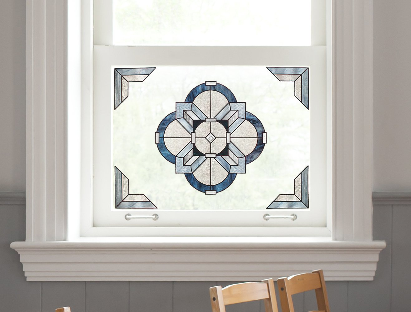 Artscape Newport Slate Window Accent 12'' x 12''