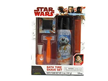 Star Wars The Last Jedi Bath Time Shave Set