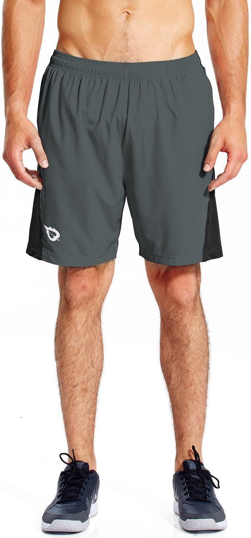 BALEAF Mens Quick-Dry Lightweight Pace Running Shorts