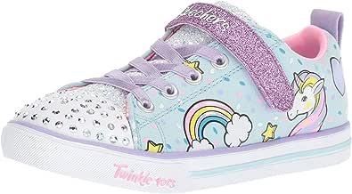Skechers Unisex-Child Sparkle Lite-Unicorn Craze Sneaker