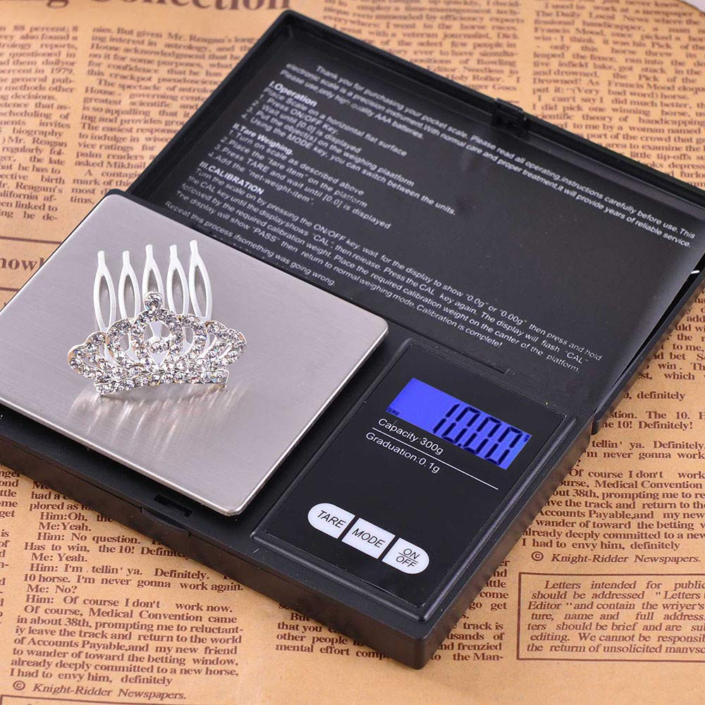 Ugood 2019 300g/0.01g High Precision Digital Electronic Scale for Jewelry Reloading Kitchen by Ugood_ (Image #5)