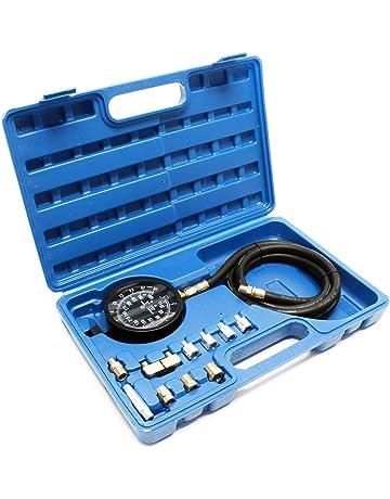 Set medidor presión aceite Manómetro aceite Comprobador presión Motor Diesel Gasolina Rango 0-21 bar