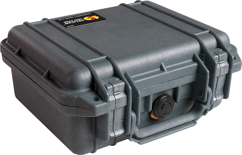 Pelican 1200 Case With Foam (Black)