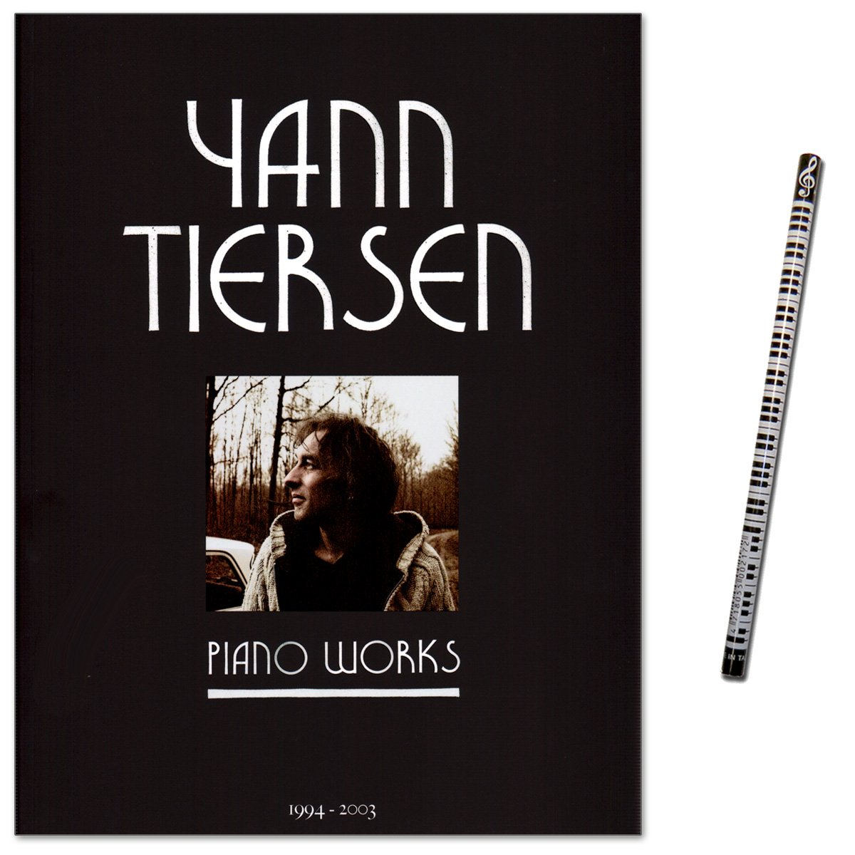 Yann Tiersen Piano Works 1994–2003/pezzi Per Pianoforte Solo (Media Difficoltà Fuori Dal Film Il Favoloso Mondo Di Amélie–Libro Note Con Piano Della Matita
