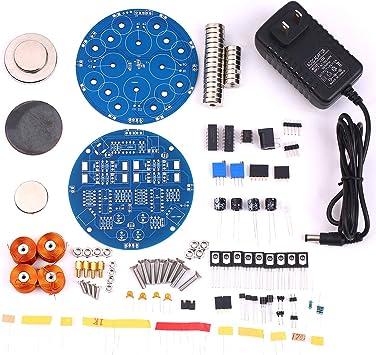 KKmoon DIY Magnetic Levitation Kit Magnetic Suspension DIY Module Kit Magnetic Floating DIY Kit Floating Toy,300g