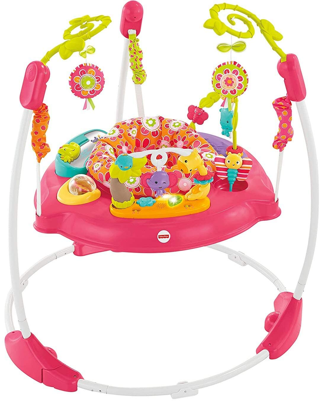 Fisher-Price Jumperoo: Pink Petals : Baby