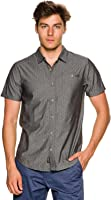 New O'neill Men's Boarderline Ss Shirt Short Sleeve Black