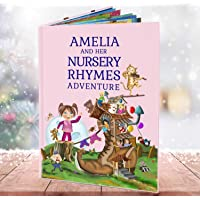 Infant Birthday Present for Girls and Boys - A Personalised Nursery Rhymes and Modern Poems Book for Kids - Perfect Keepsake Gift