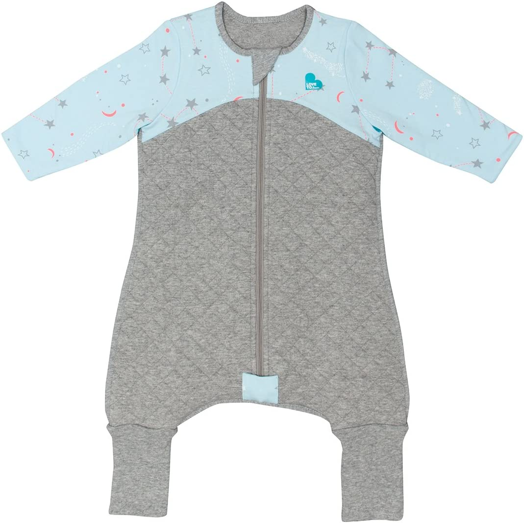 White Size 00-3-6 Months Onesie Style Sleeping Bag with Legs and Convertible Feet Love To Dream Child Sleep Suit 2.5 TOG
