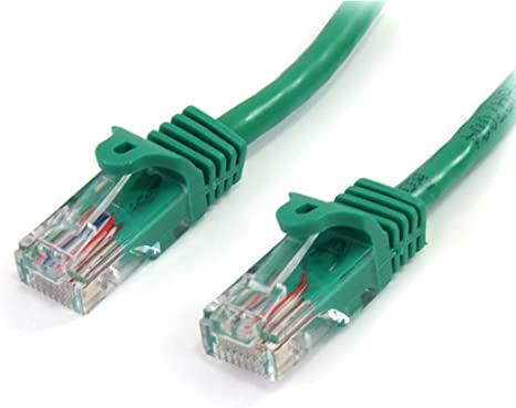 Cat5e RJ45 Patch Ethernet LAN Network Cable 5 ft Green Color
