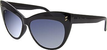 f07f1d874f The Wrong Way Gafas de Sol Ojos de Gato Montura en Pasta Negra de alta  resistencia