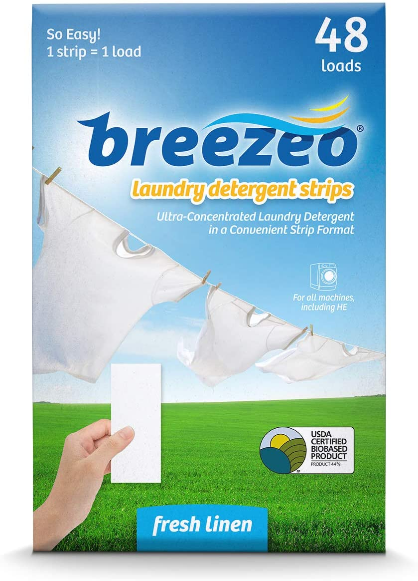 Breezeo on-the-go Laundry Detergent Strips