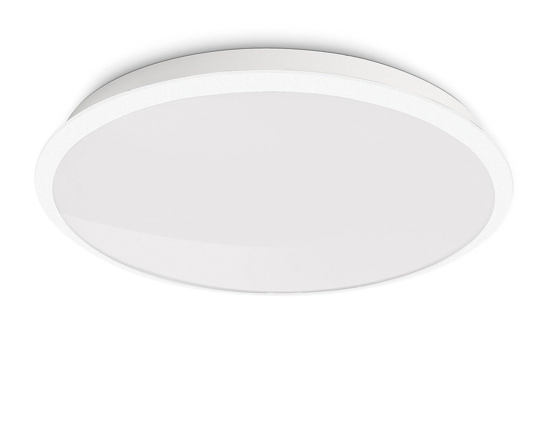 Philips 309413116 plafonnier led denim luminaire d'intérieur blanc ...