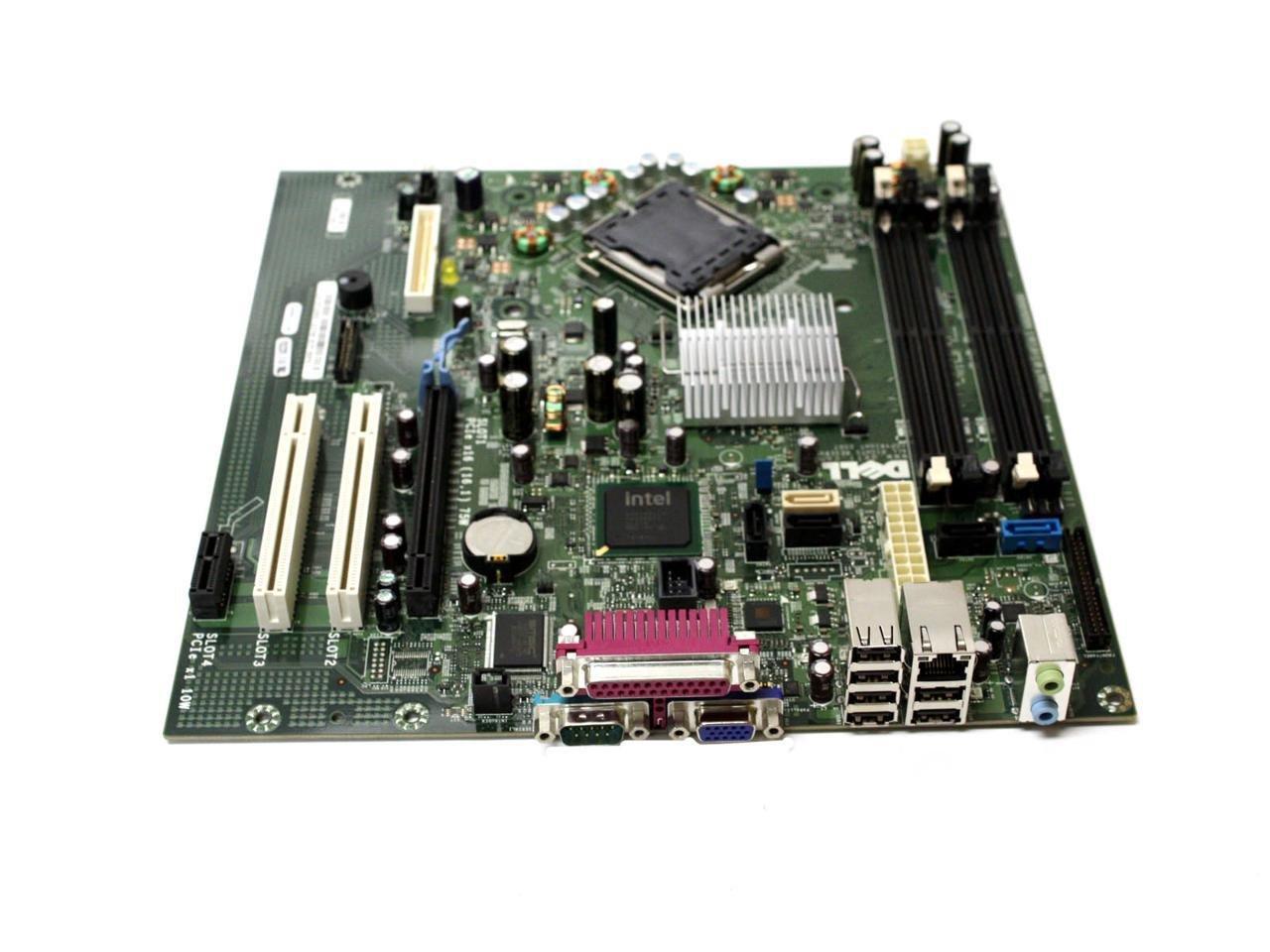 New Genuine OEM DELL Optiplex 755 Motherboard SMT Desktop Mini Small Tower Y255C Intel GM819 JR271 Logic Main System Board Assembly Intel Celeron Core 2 Duo