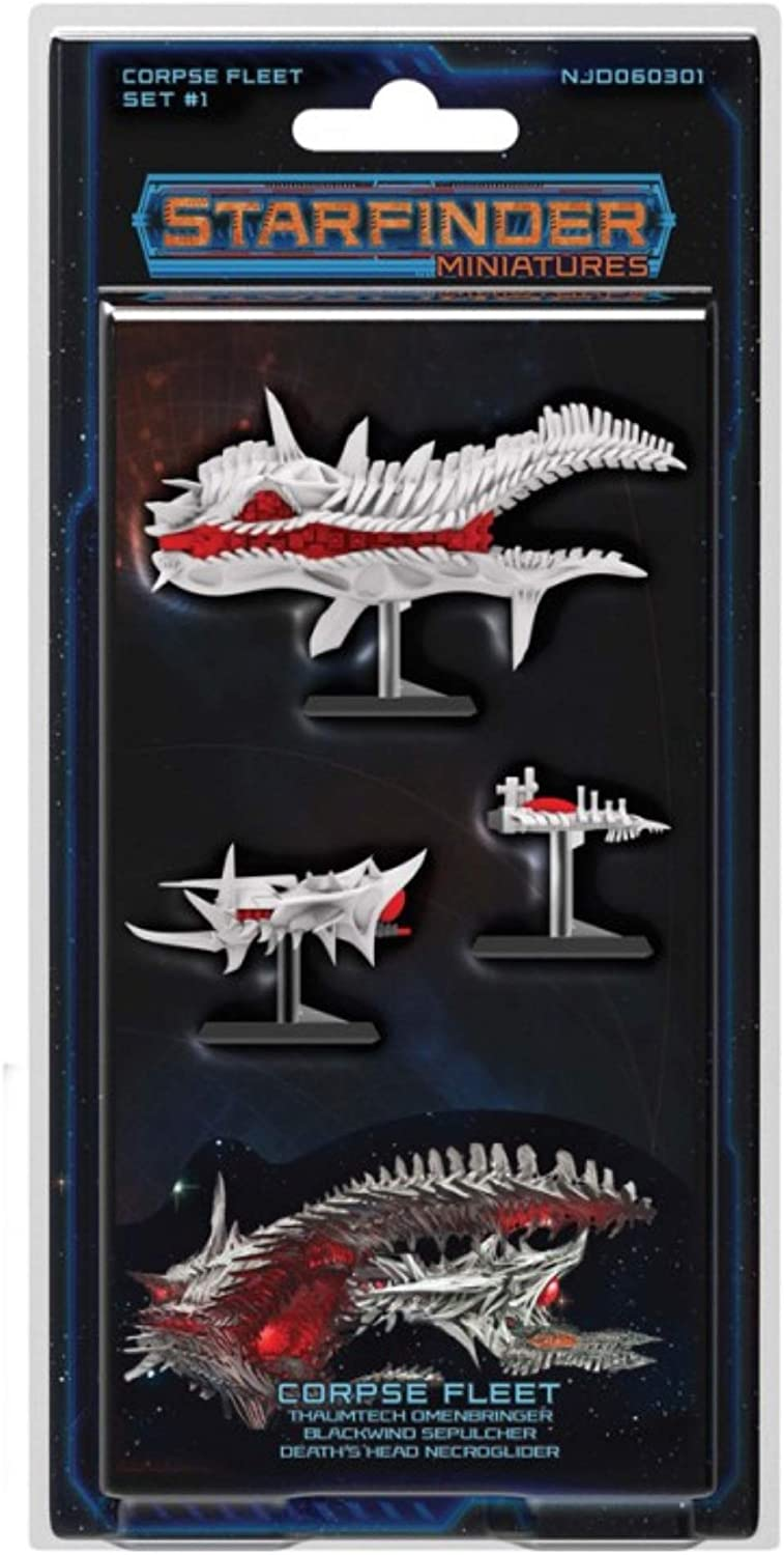 Ninja Division Publishing Starfinder Miniatures: Corpse Fleet Set 1
