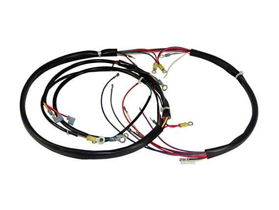 Amazon Com Power House 12057 Black Plus Wiring Harness Kit For Flh