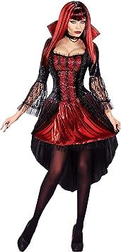 WIDMANN 07639 Adultos Disfraz de vampiresa, XS: Amazon.es ...