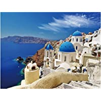 Jigsaw Puzzles 1000 Pieces for Adults Larger Puzzle Game Toys Gift Aegean Sea Puzzles for Kids