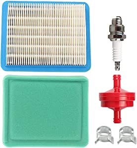 491588 491588S 5043K Air Filter + 493537S 493537 Pre-Filter for 399959 494245 5043H 4101 5043B 5043D 4915 5043 Engines