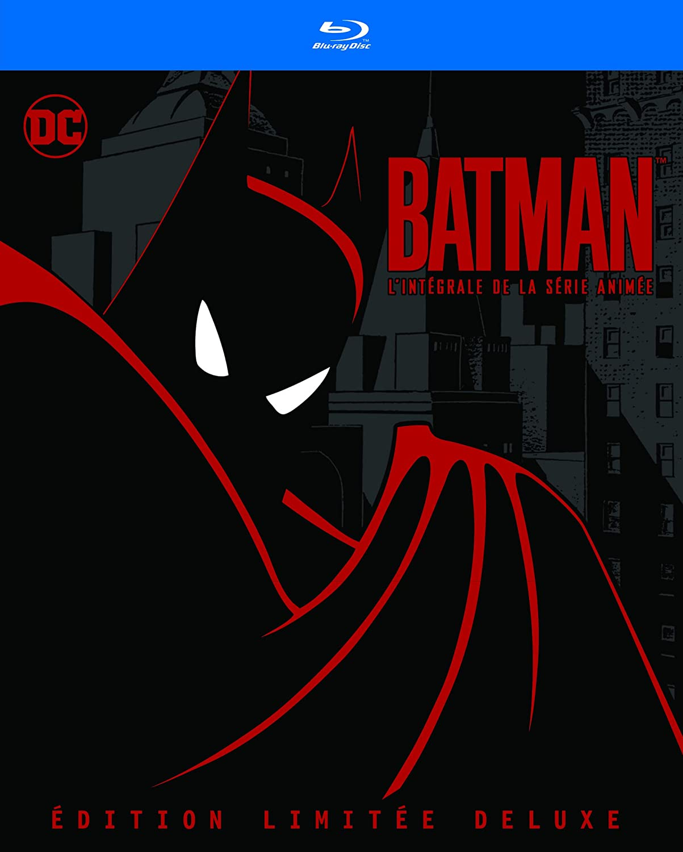 Batman - Lintégrale de la série animée Francia Blu-ray ...