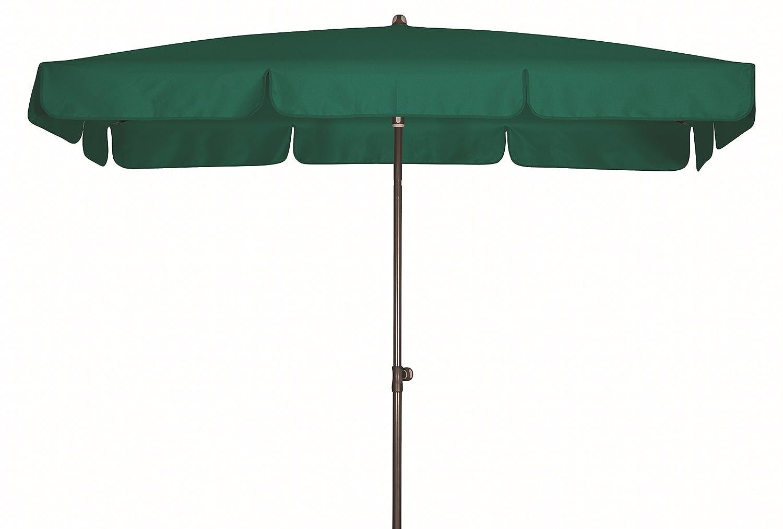 Absolut wasserdichter Gartenschirm Waterproof 260x150 von Doppler mit UV-Schutz 80, Farbe dunkelgrün