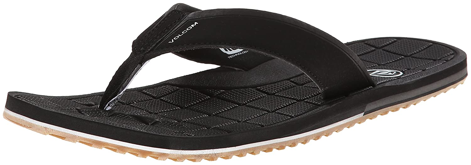 a7ac54fff60007 Amazon.com  Volcom Men s Stryker Flip Flop  Shoes