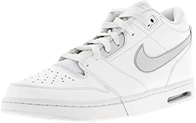 quality design 3e19f b8eb9 Nike Air Stepback Mens Hi Top Basketball Trainers 654476 Sneakers Shoes (US  9, White