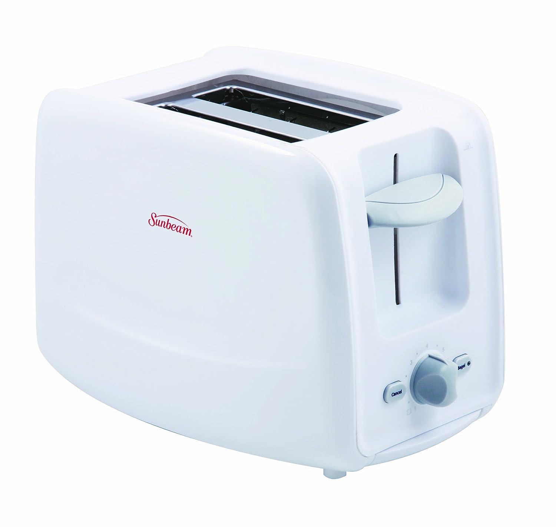 Sunbeam 2 Slice Toaster with Retractable Cord, Black TSSBRT2SLB-033