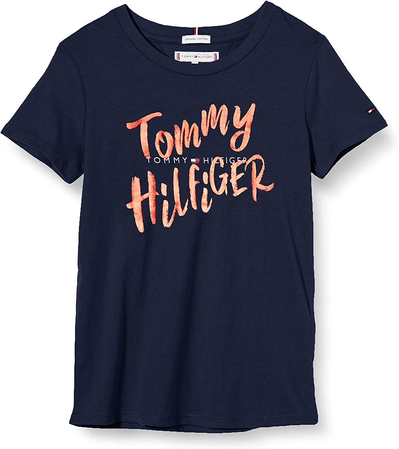 Tommy Hilfiger Graphic Tee S//S T-Shirt Fille