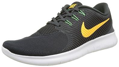 reputable site 5f441 9e45c Nike Men s Free Rn Commuter Training Running Shoes, (Anthracite Laser  Orange Rage