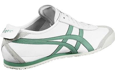 ASICS ONITSUKA TIGER MEXICO 66 weiß grün: : Schuhe