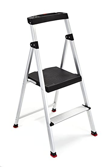 Rubbermaid RMA-2 2-Step Lightweight Aluminum Step Stool with Project Top  sc 1 st  Amazon.com & Amazon.com: Rubbermaid RMA-2 2-Step Lightweight Aluminum Step ... islam-shia.org