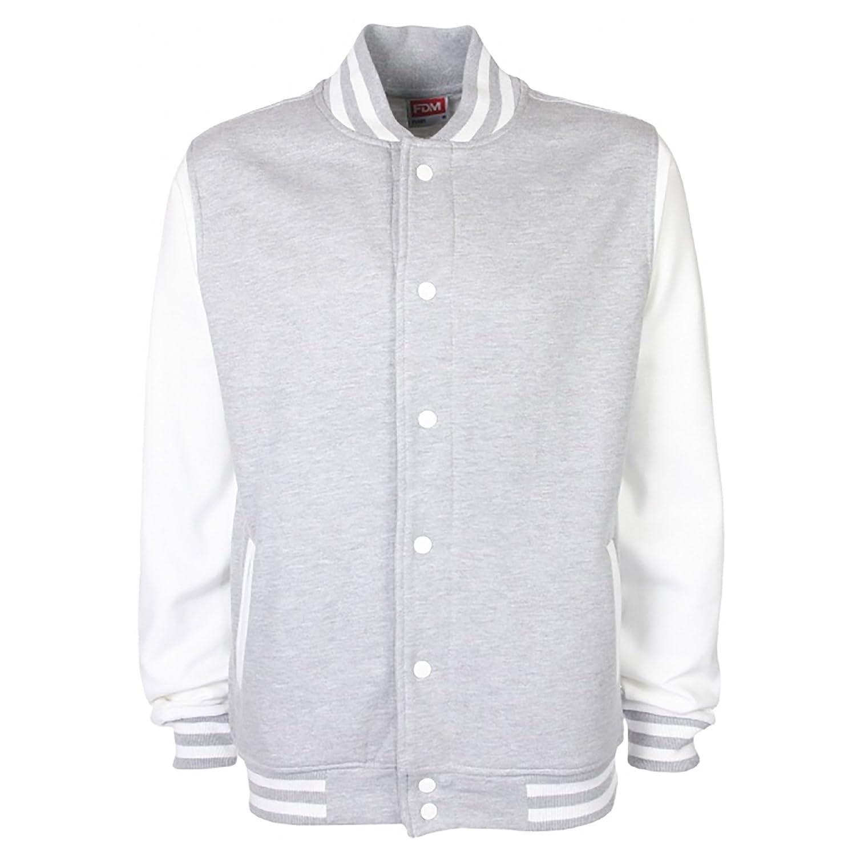 FDM Unisex Varsity/University Jacket (Contrast Sleeves)