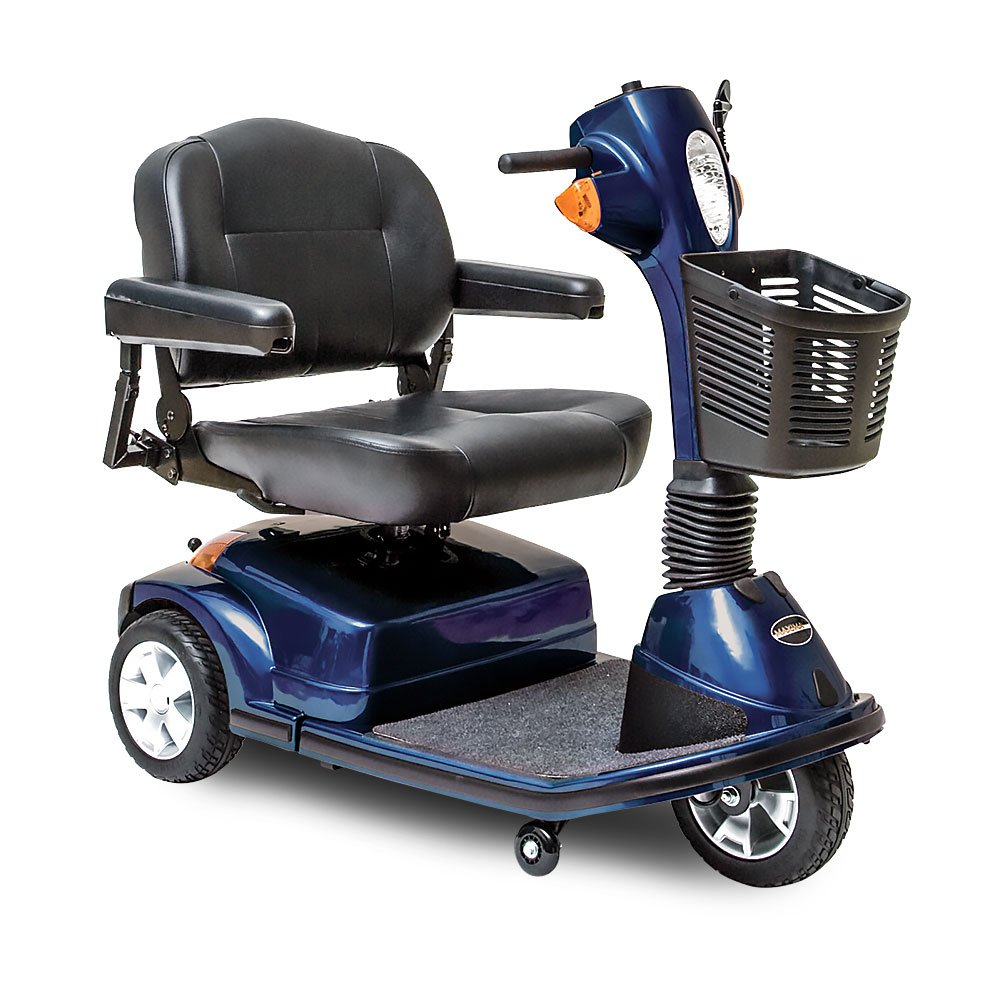 Pride Maxima 3-Wheel Mobility Scooter - Blue by Maxima