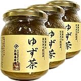 国産 養蜂家のはちみつ仕込み ゆず茶 250g×3袋セット