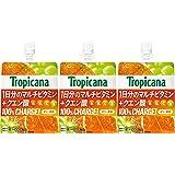 トロピカーナ 100%チャージ オレンジブレンド 160gパウチ×3本