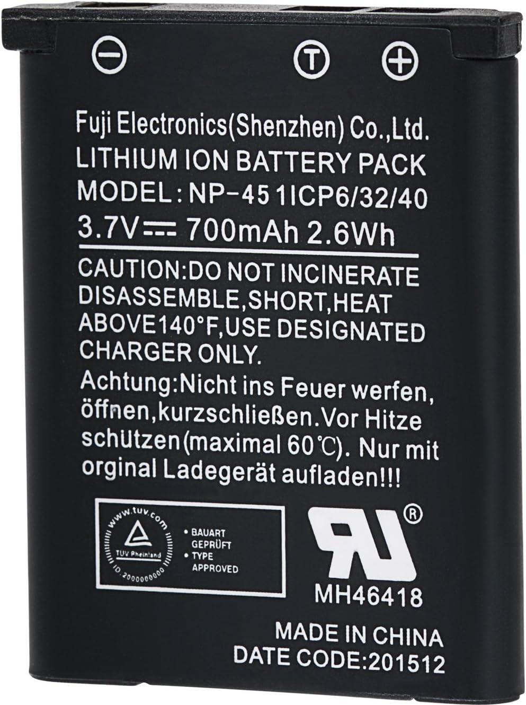 Praktica Np 45 Lithium Ionen Akku Für Wp240 Z250 Und Elektronik