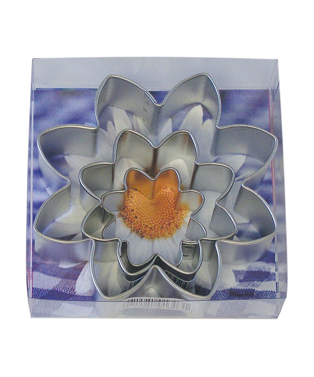 R&M International 1913/B Daisy Flower Cookie Cutter, Assorted Sizes, 3-Piece Set